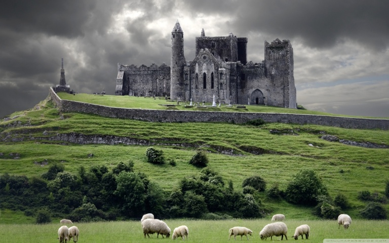 Rock of Cashel actual