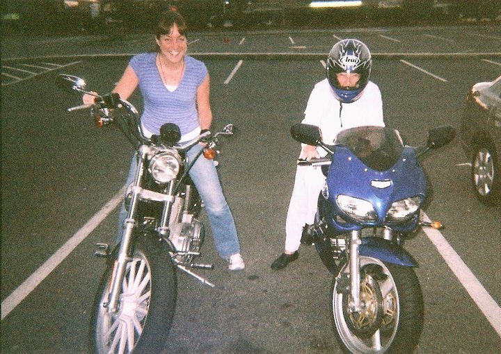nana and i motorcycles