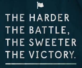 A Hard-won Victory