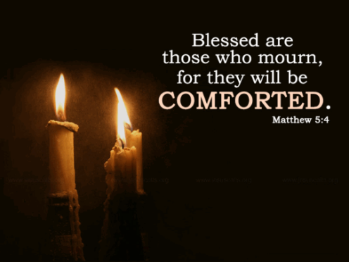 blessed are they who mourn