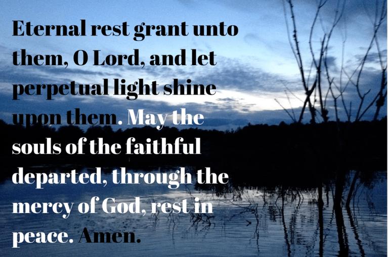 eternal rest by water
