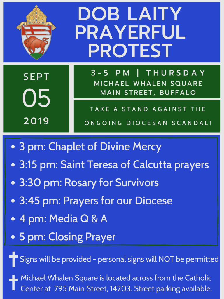 DOB Laity Prayerful Protest 9.5.2019